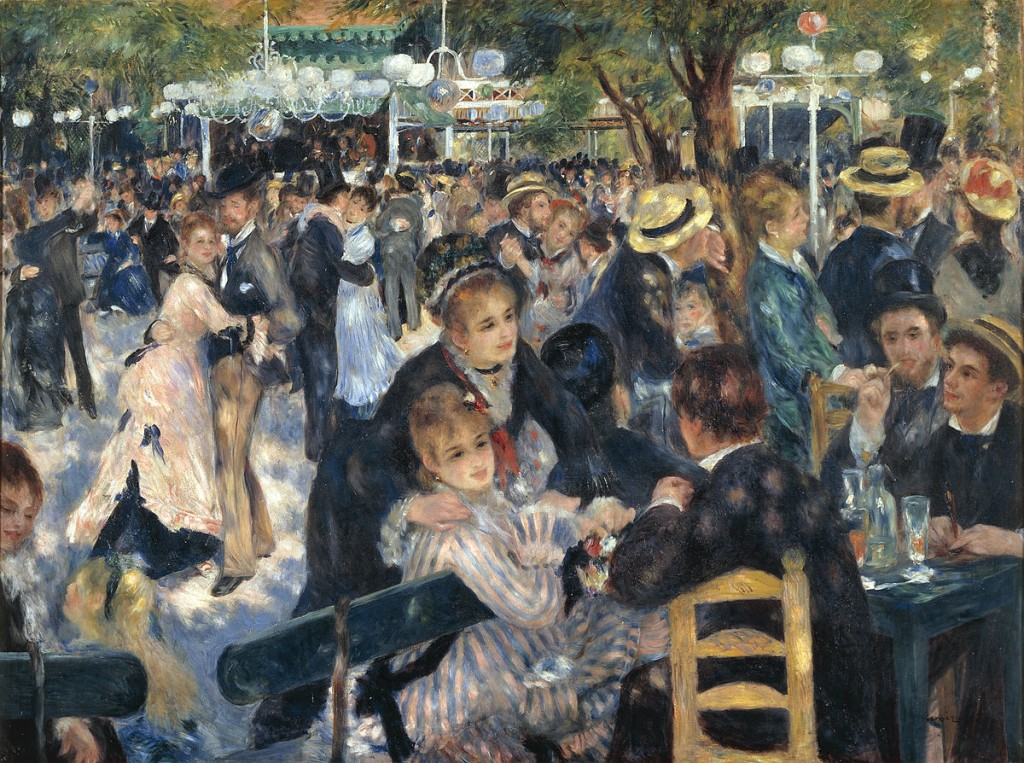 """Dance at le Moulin de la Galette"" by Pierre-Auguste Renoir 