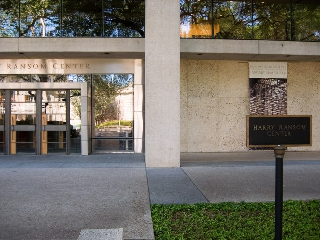 Harry Ransom Center | © bill_comstock/Flickr