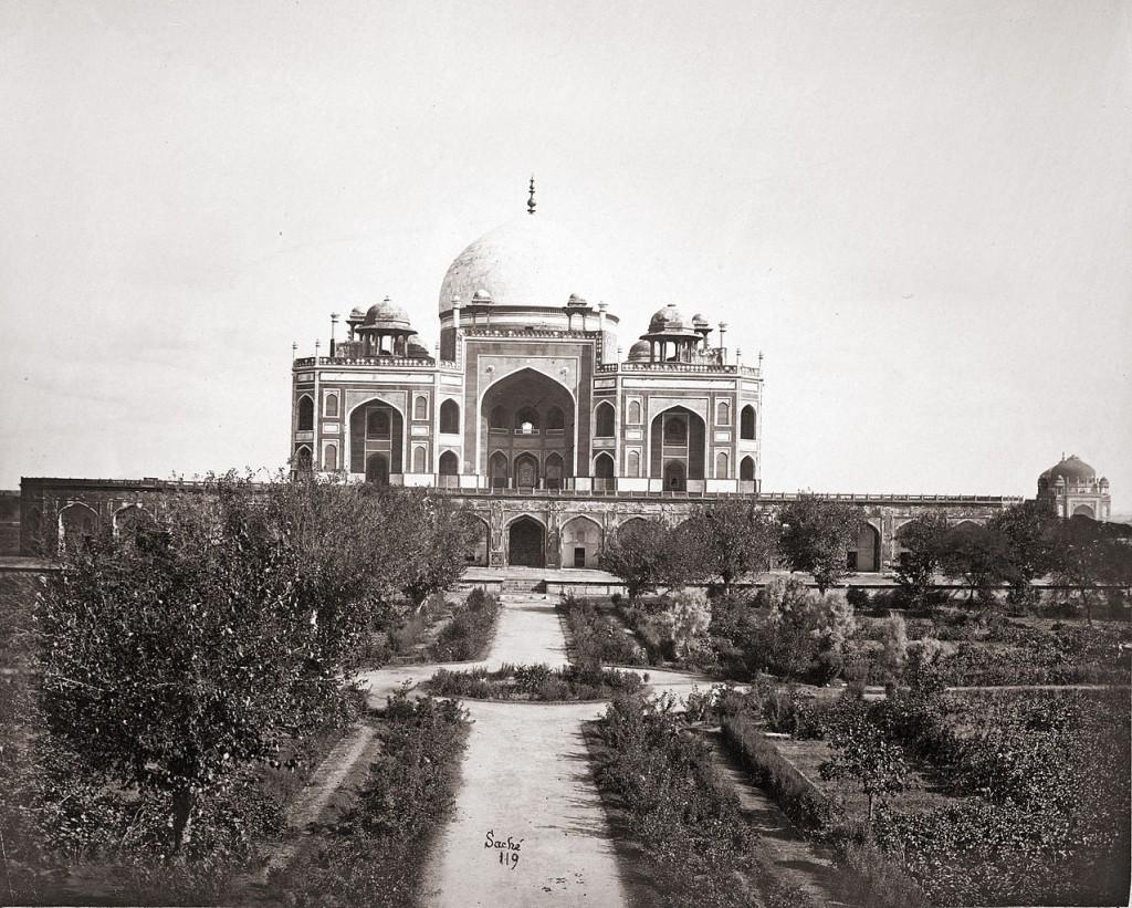 Humayun's Tomb, Delhi. 1860/©John Edward Sache (1840-1882)/WikiCommons