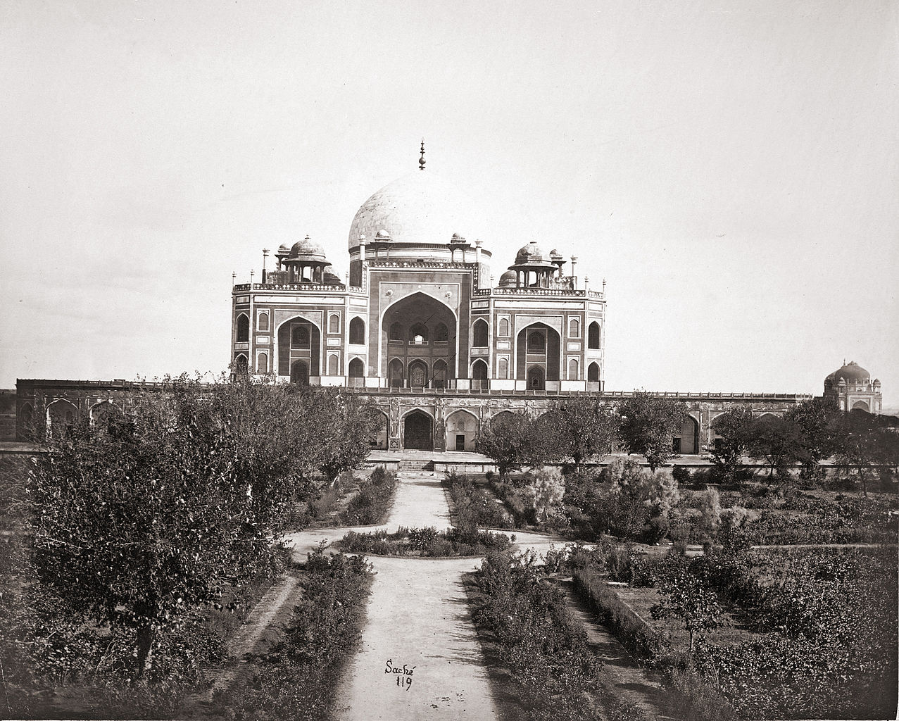 100 years ago a photo essay hu un s tomb in 1860 and 2005
