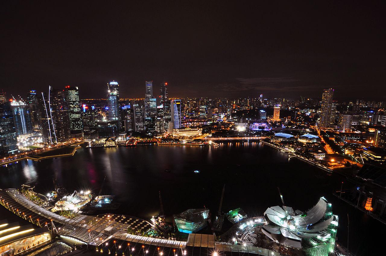 Night view from the Skypark © Chensiyuan/WikiCommons