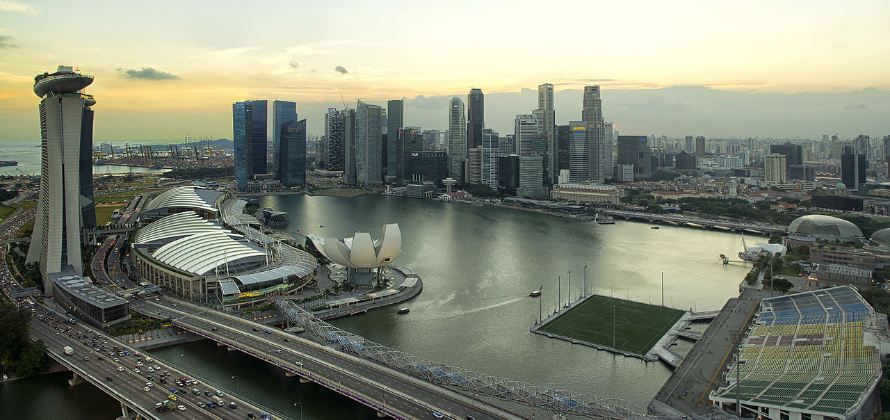 360-degree view from Singapore Flyer © Chensiyuan/WikiCommons