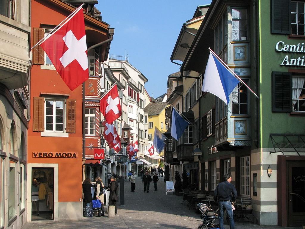 Zurich, Switzerland | © Roland zh/WikiCommons
