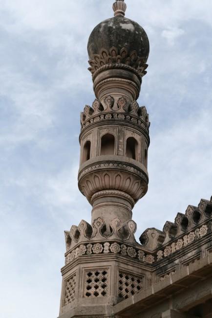 A minaret at the fort © Flickr/Jamin Gray