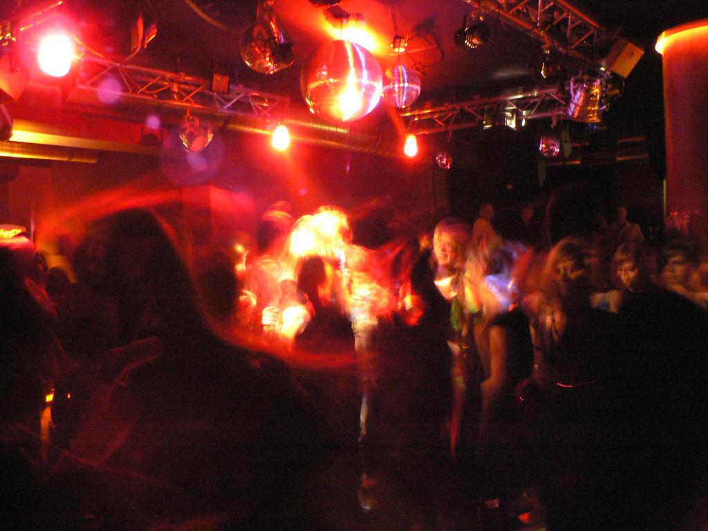 Dance club in Stuttgart   ©Curran Kelleher/flickr