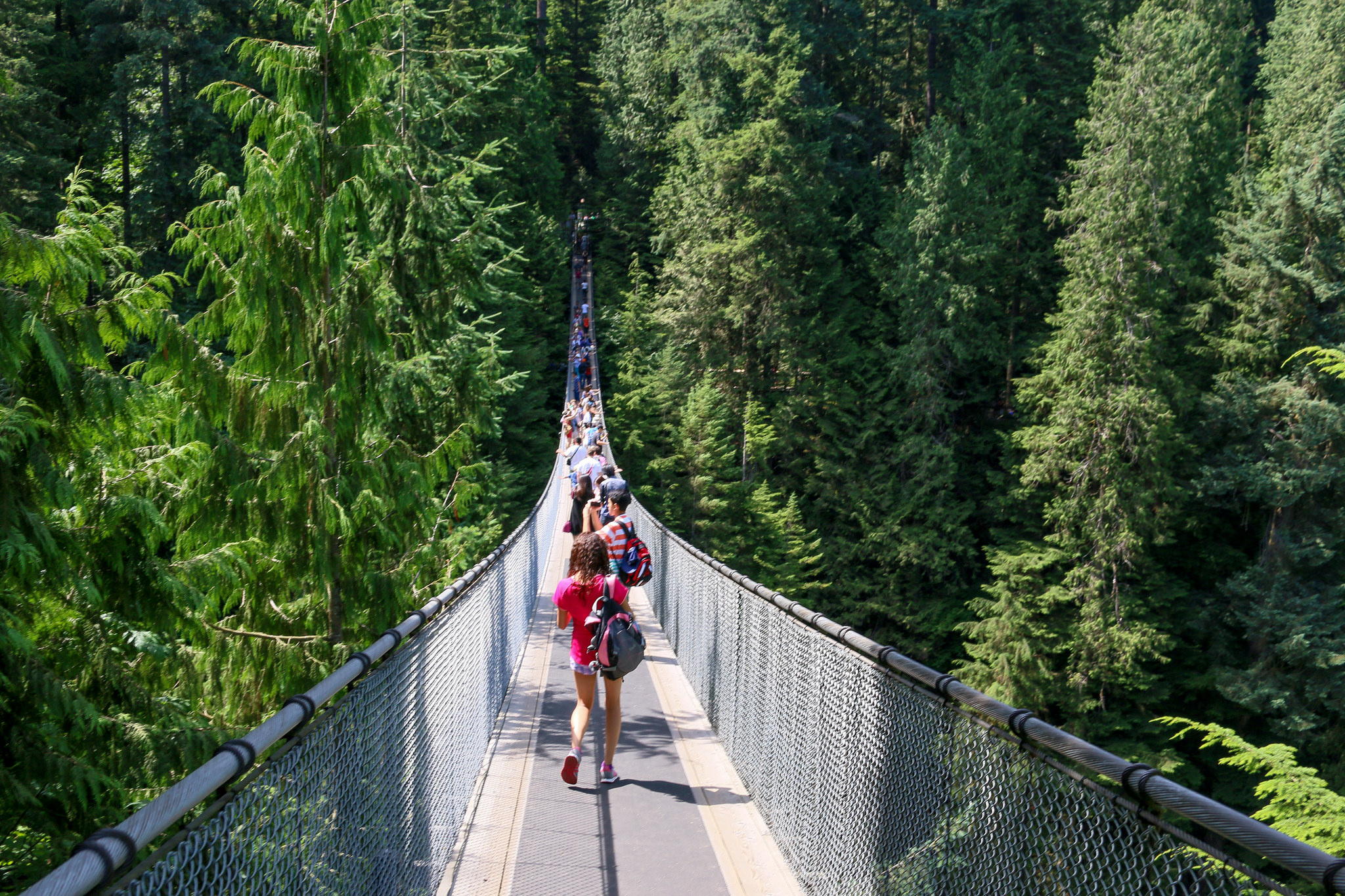 Capilano Suspension Bridge | ©Jeroen van Luin/Flickr