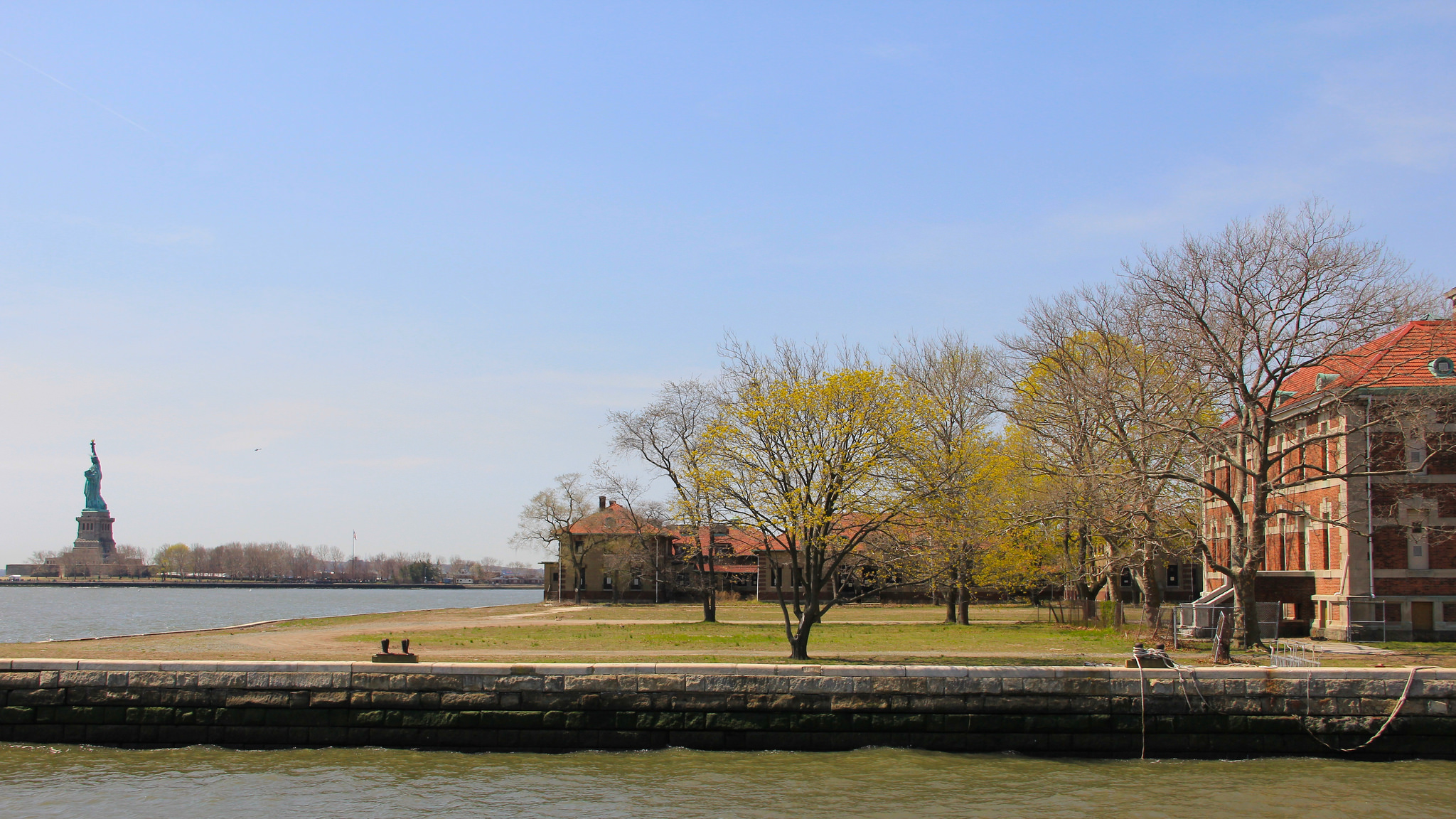 Ellis Island & Liberty Statue | © Michela Simoncini/Flickr