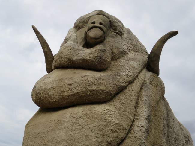 The Big Merino, Goulburn © Lu Barnham