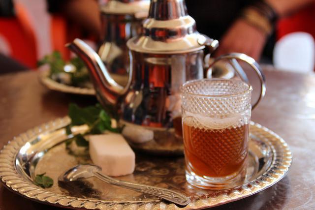 Fresh mint tea | © Thibaut Démare / Flickr