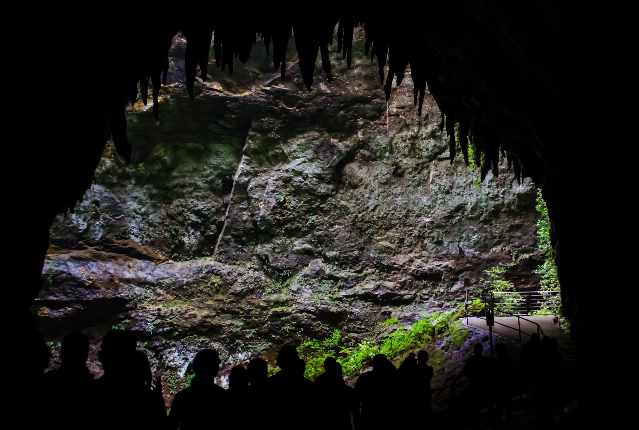 Mouth of the Cave | © Jeff Hitchcock/Flickr
