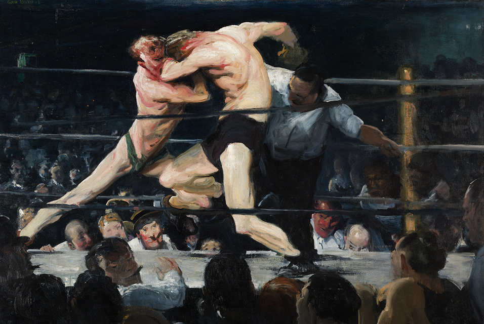 """""""Stag at Sharkey's"""" by George Bellows   ©Public Domain/WikiCommons"""
