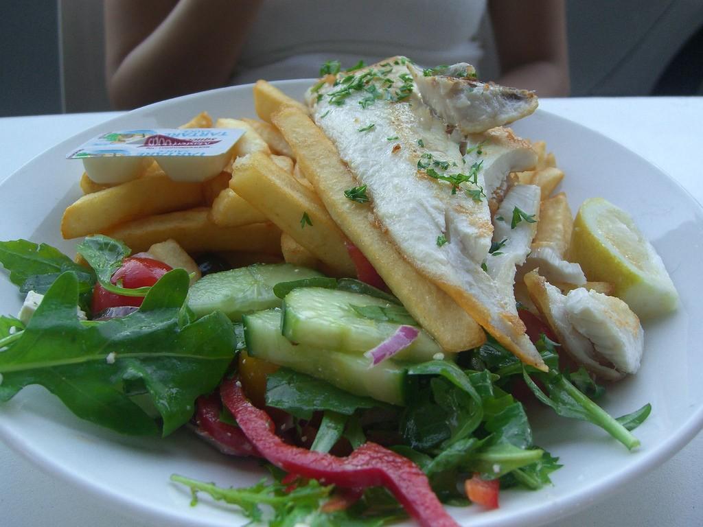Fish Tank Dish Located on Church St., ©Alpha, Flickr