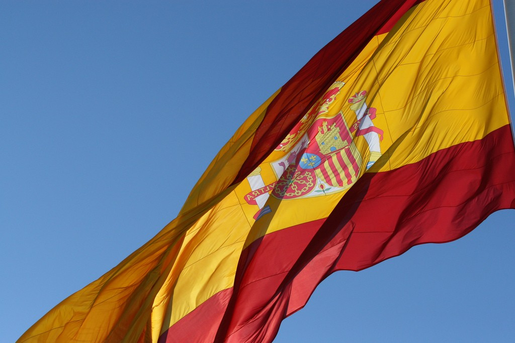 The Spanish flag   © Gilad Rom / Flickr