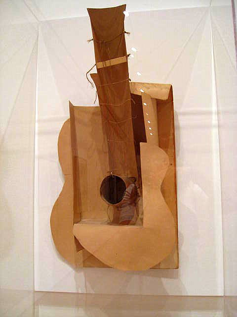Pablo Picasso, Maquette for Guitar, 1912 | © Nika Vee/Flickr