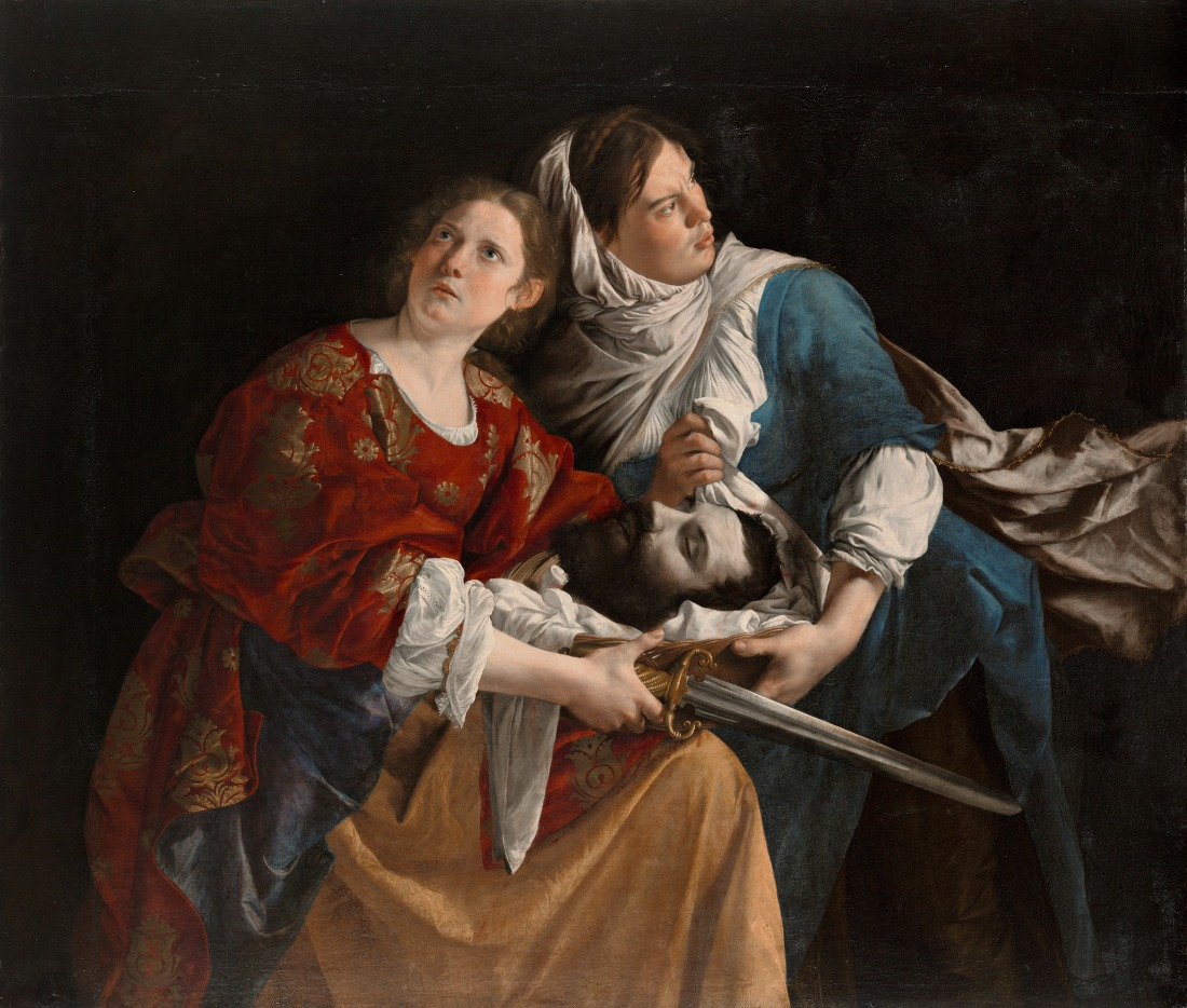 Orazio Gentileschi, Judith and Her Maidservant with the Head of Holofernes, c. 1610-12, Oil on canvas, Wadsworth Atheneum Museum of Art, The Ella Gallup Sumner and Mary Catlin Sumner Collection Fund, 1949.52