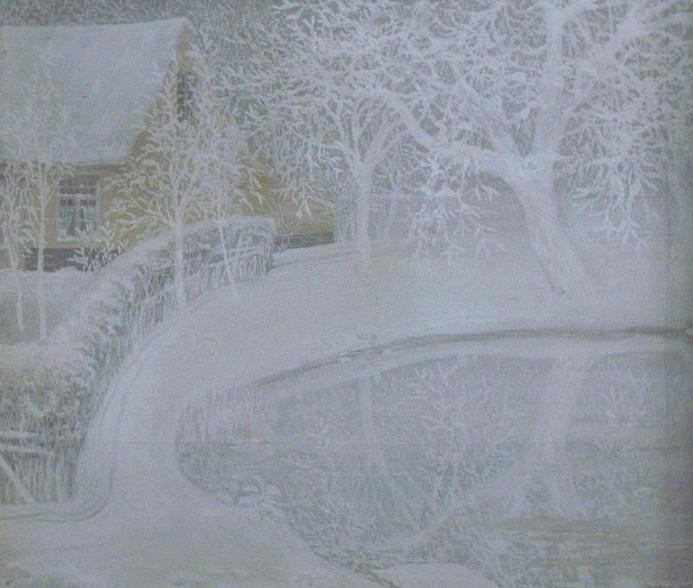 Jardin sous la neige (Garden in the snow) | © WikiCommons