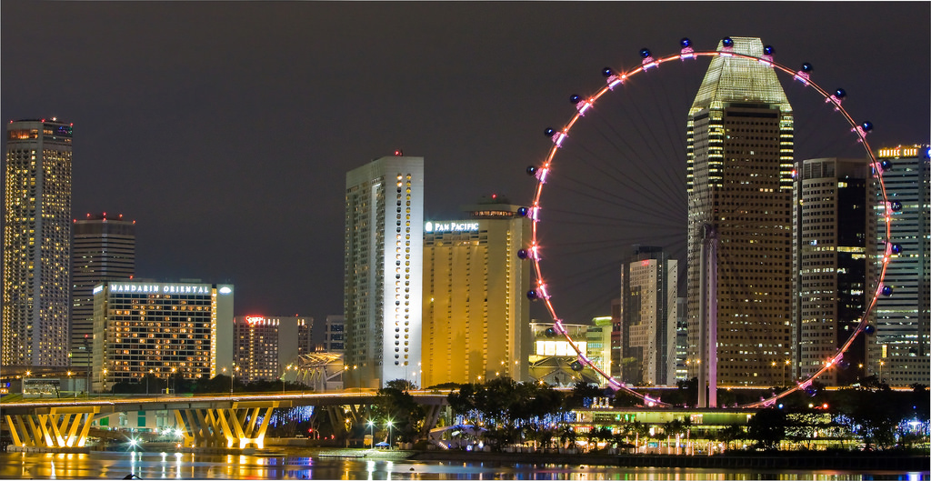 View from Marina Barrage | © LH Wong/Flickr