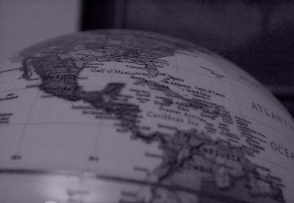 Globe | © Riley Kaminer/Flickr