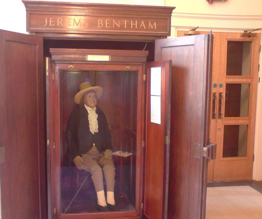Jeremy Bentham UCL founder ©