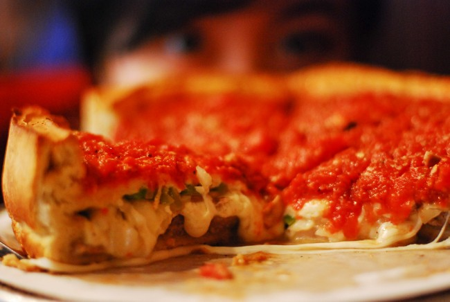 A Brief History Of Chicago Deep Dish Pizza