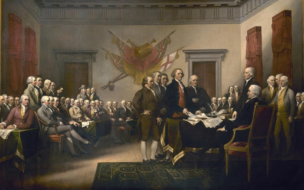 John Trumbull - Declaration of Independence | © Jim Trodel/Flickr