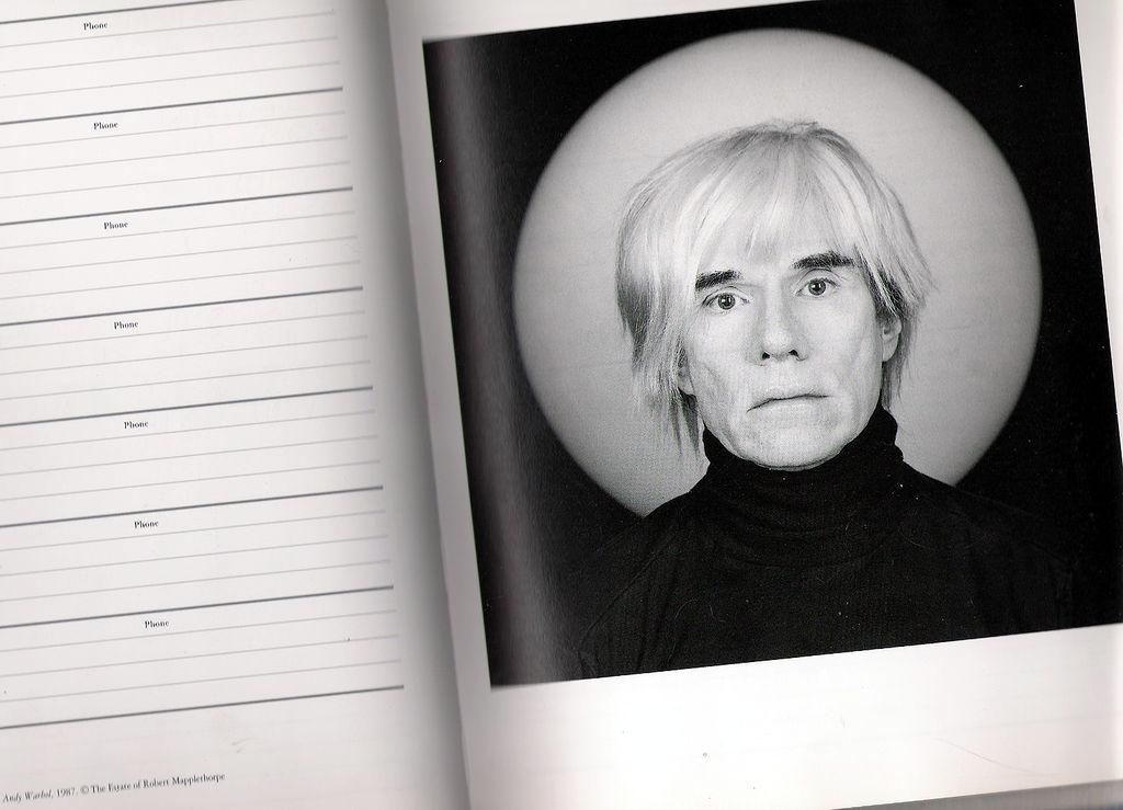 Andy Warhol, 1987 @ The Estate of Robert Mapplethorpe   © Gisela Giardino/Flickr