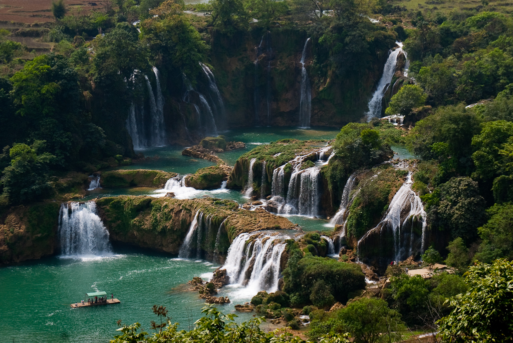 Ban Gioc-Detian Falls | © jan go/Flickr