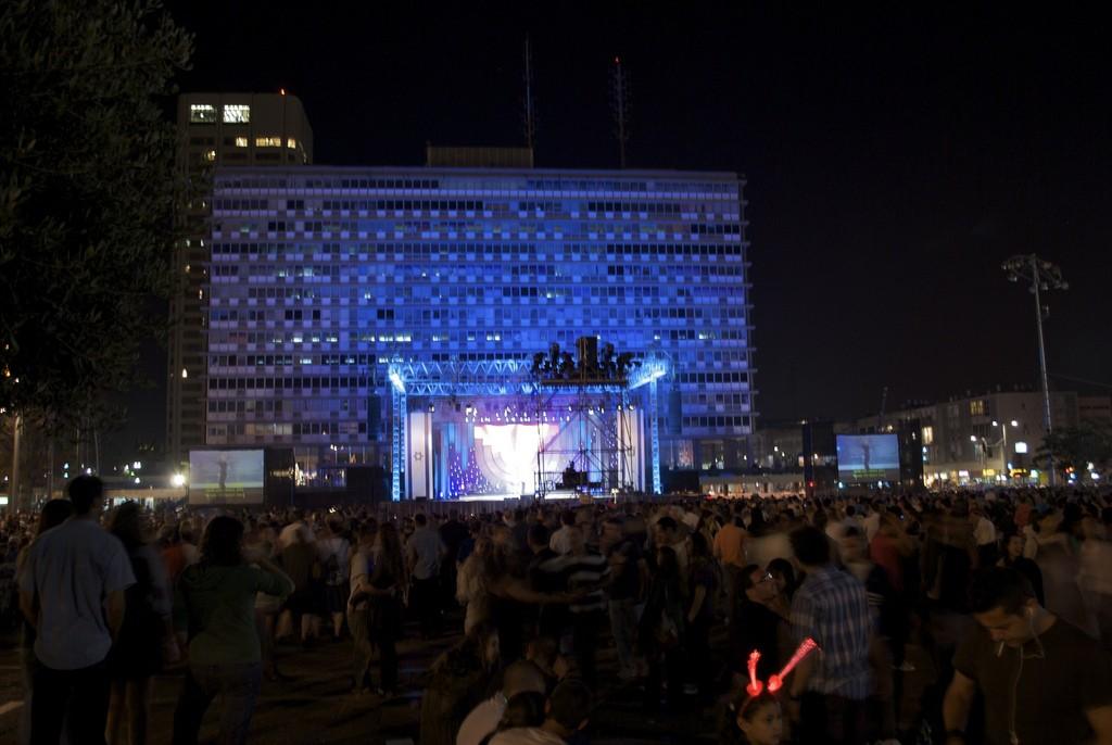 Rabin Square celebrations | © Sagie/Flickr