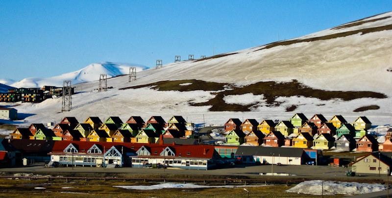 Midnight sun in Svalbard | © Michael Nielsen/Flickr