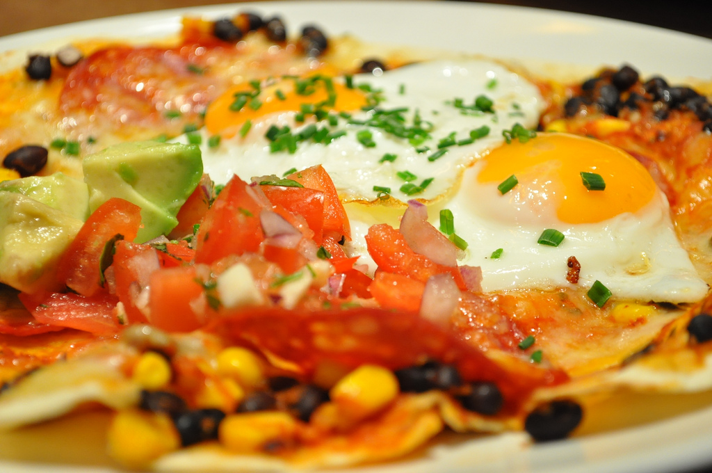 Giraffe review Islington Essex Road huevos rancheros | © London Chow/Flickr