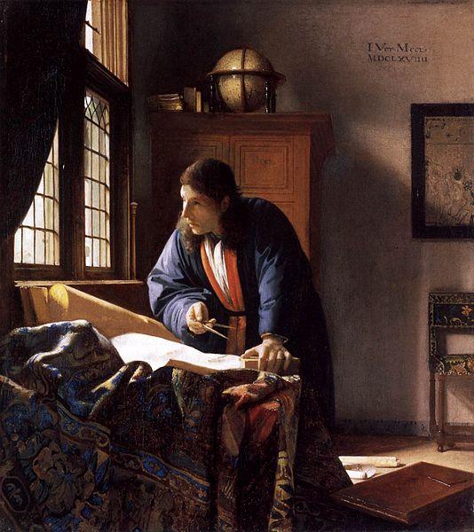 Johannes Vermeer, The Geographer | © Städel/WikiCommons