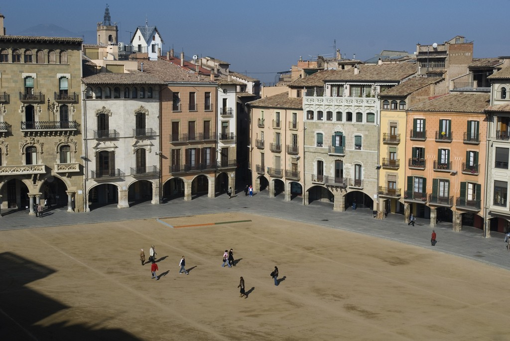 The main square of Vic | © Press Cambrabcn / Flickr