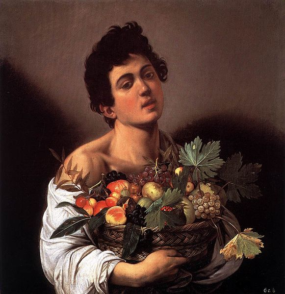 Caravaggio, Boy with a Basket of Fruit | © Galleria Borghese/WikiCommons