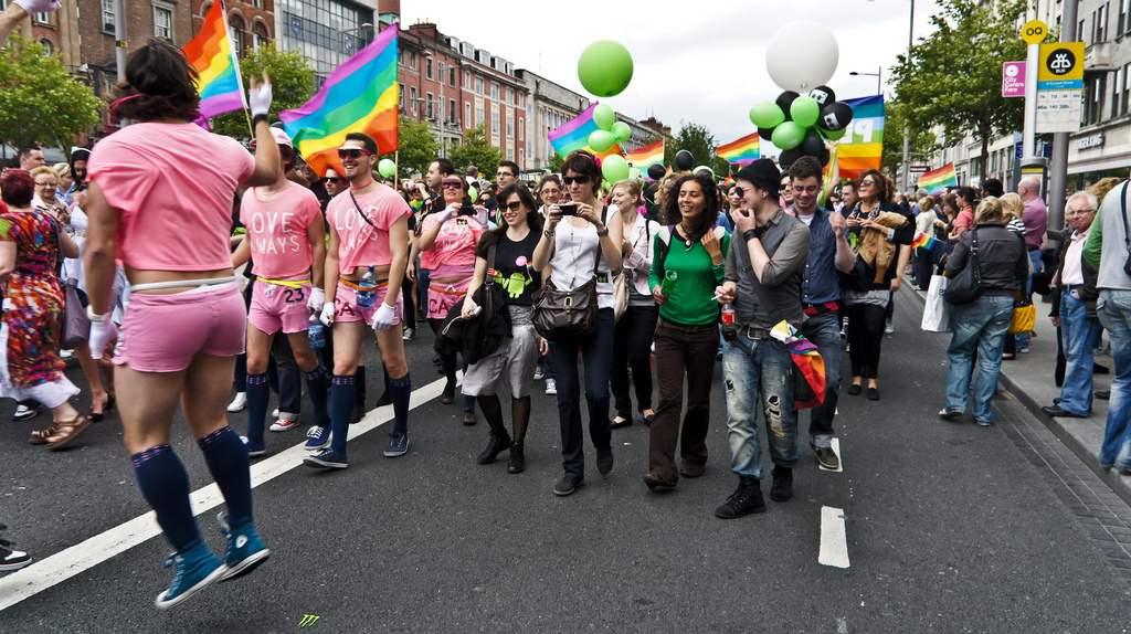 Gay Pride Parade In Dublin - 2011 | ©William Murphy/flickr