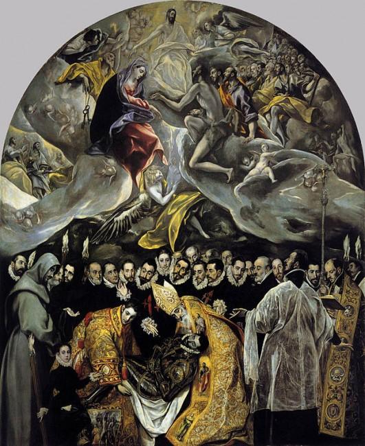 El Greco, The Burial of the Count of Orgaz | © Iglesia de Santo Tomé (Toledo)/WikiCommons