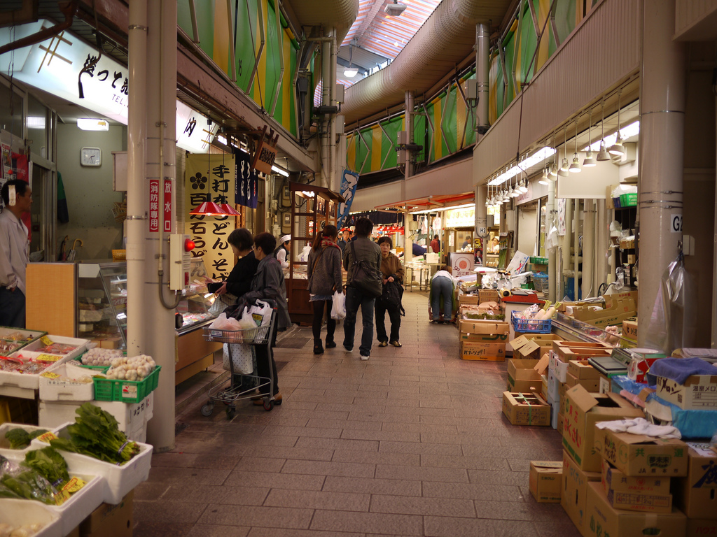 The Omicho Market | © GanMed64/Flickr