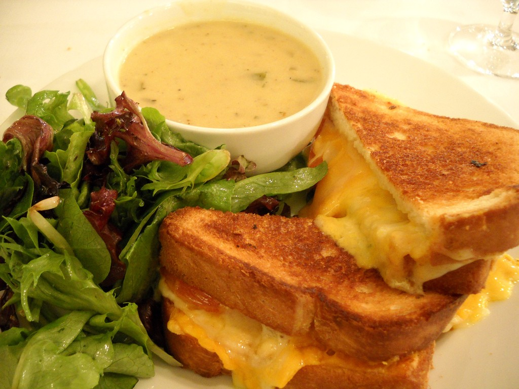 Grilled Cheese | © Tom Ipri/Flickr
