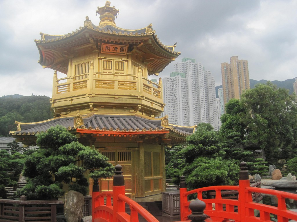 Yellow Temple, Chi Lin Nunnery, Hong Kon ©Stephen Kelly