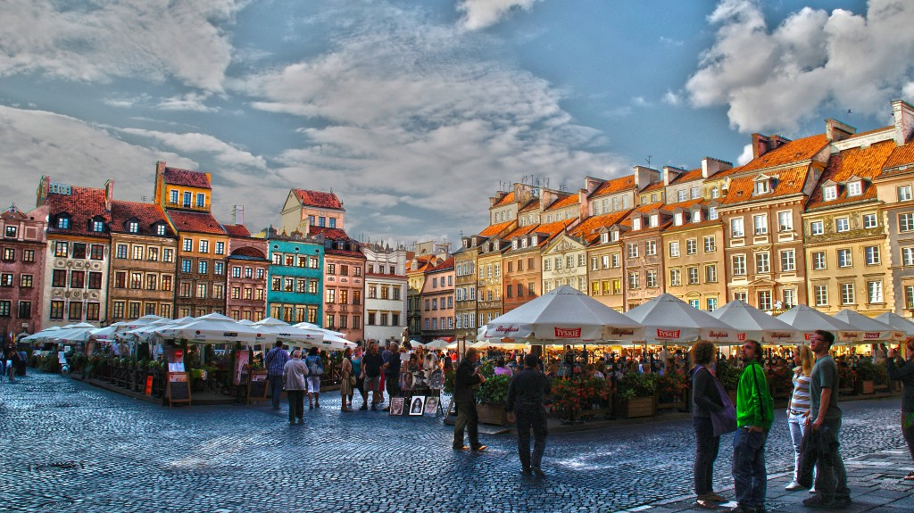 Warsaw Old Town | ©Gabriela Fab/Flickr