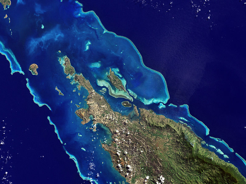 Barrier reef New Caledonia|Wikicommons