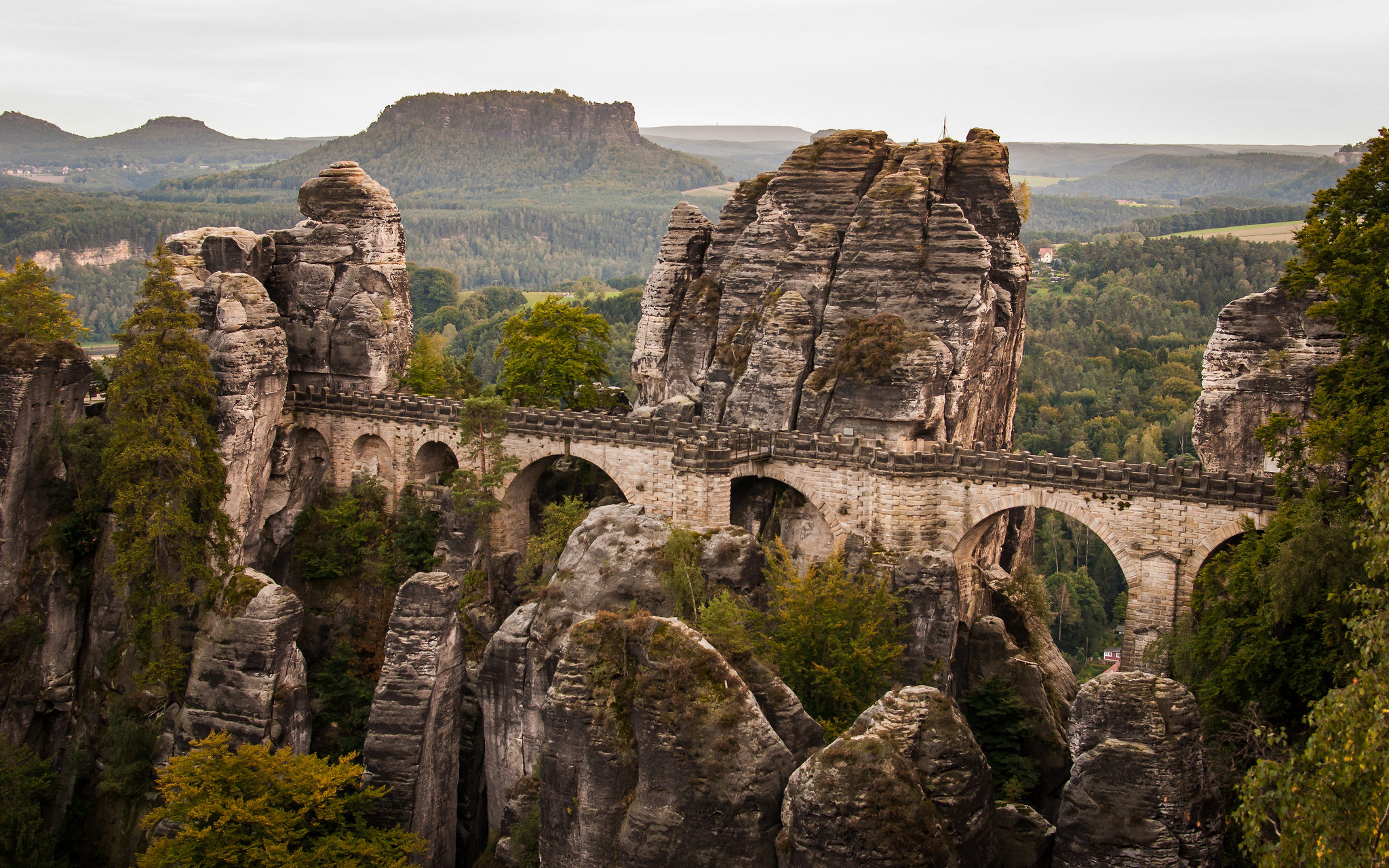 Bastei Bridge | ©SteFou!/WikiCommons