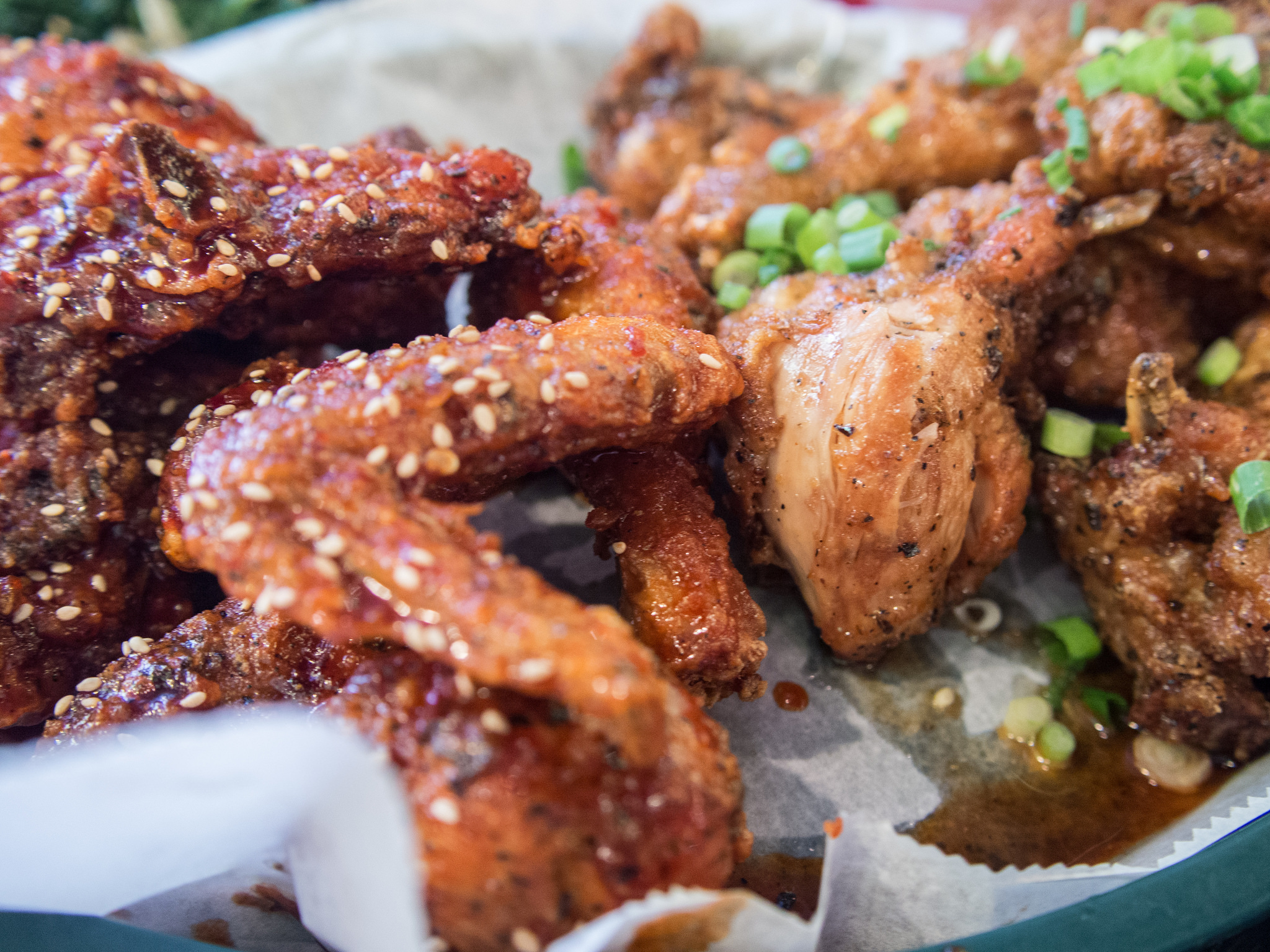 Crisp Korean Fried Chicken | © Edsel Little/Flickr