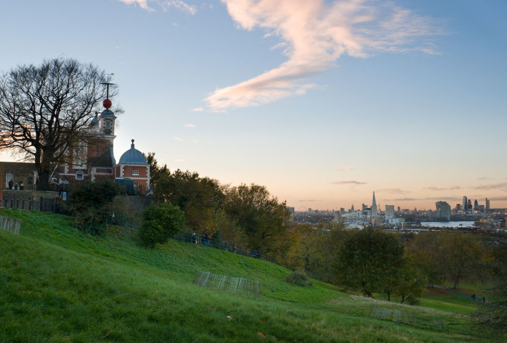 View from Giant Steps, Greenwich Park   Courtesy of The Royal Parks