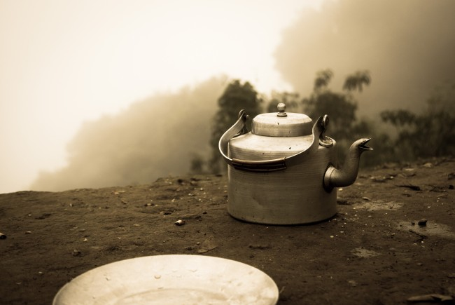 Tea time in Nepal | © Sharada Prasad CS/Flickr