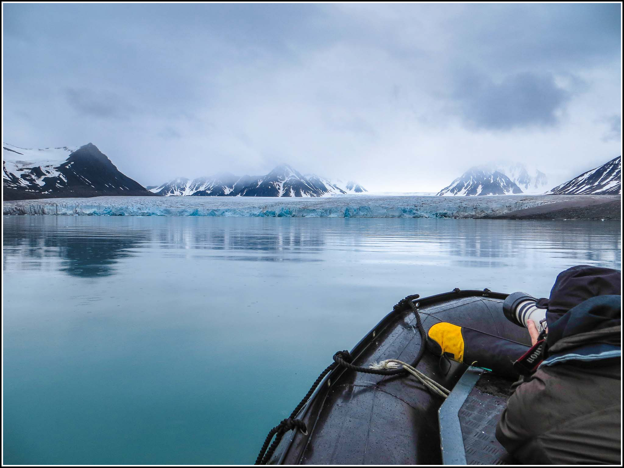 A glacier view from the water | © Smudge 9000/Flickr