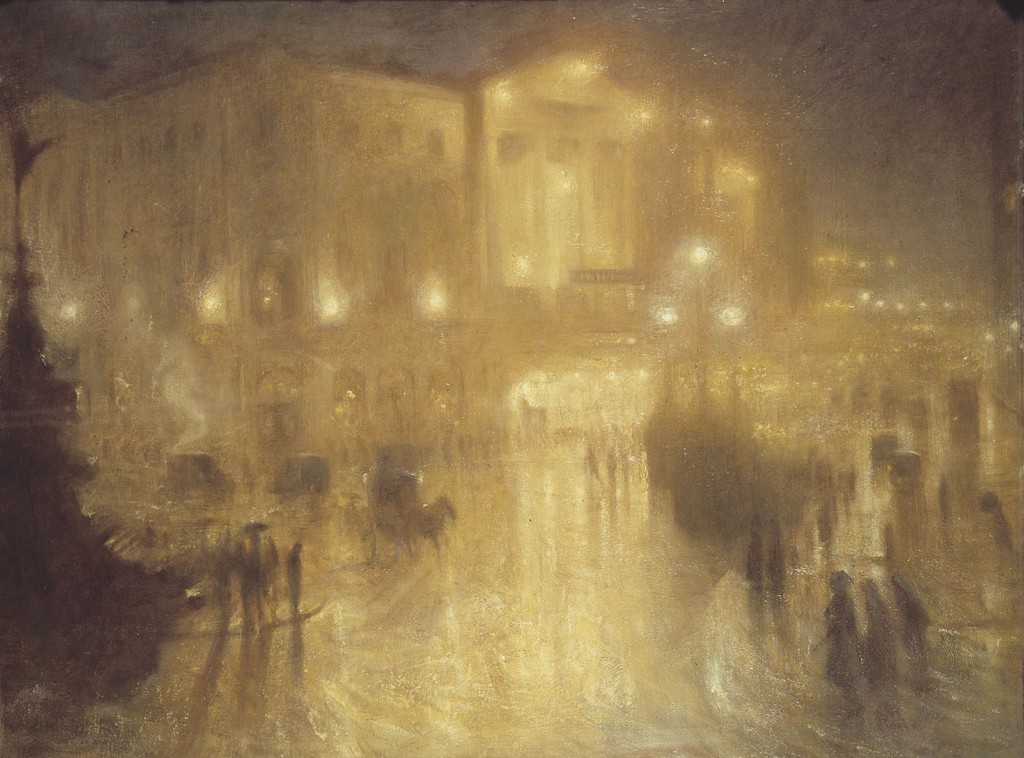 A Wet Night at Piccadilly Circus, 1810 | © Arthur Hacker