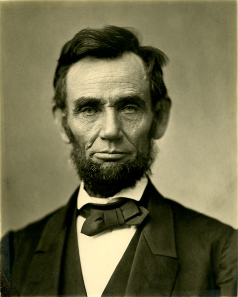 Abraham Lincoln O-77 matte collodion print | © Alexander Gardener/WikiCommons
