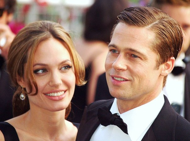 Angelina Jolie and Brad Pitt in 2007 © Georges Biard/WikiCommons