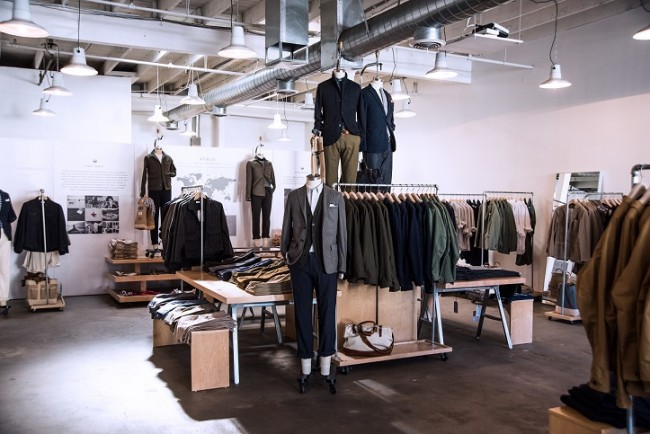 Apolis Showroom | Courtesy of Apolis