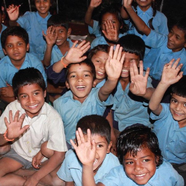 Children in Rajasthan Community Centre | Courtesy of Artbound
